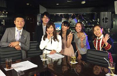 東京MXテレビ「BEE SHUFFLEのシャッフルエイジング/大人の女の秘密ラボ」
